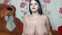 More great boobs on webcam model