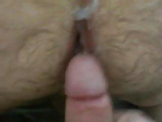 Mature Bear BB fuck and cum
