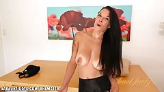 Veronica Green loves to talk about hard dick's Thumb