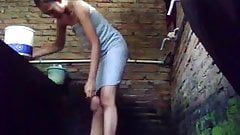 sister shower hidden cam