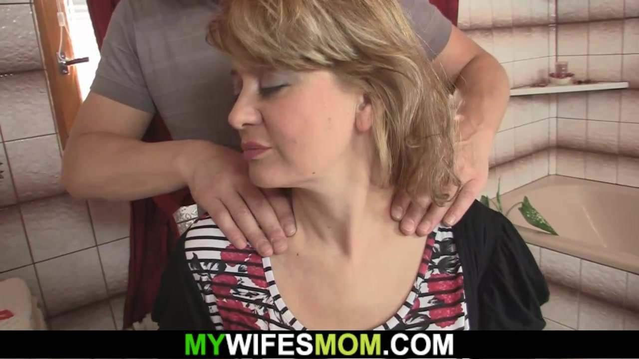 Guy screws his hot mother-in-law