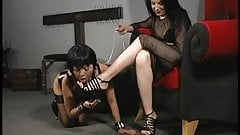 Mistress with female slave