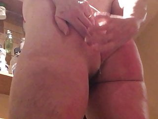 study of unaware milf's ass and pussy from behind