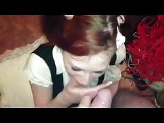 Preview 6 of submissive schoolgirl girlfriend sucks boyfriends cock