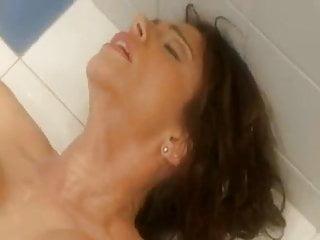 Busty Shower Tease Ariella Ferrera