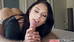 Megan Sage sage punishing her