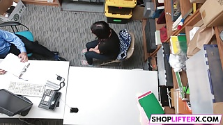 Pretty Teen Penelope Gets Fucked For Theft
