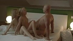 Two Horny Blondes Hot Threesome