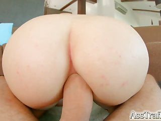 Asstraffic Big Boobed Babe Enjoys Anal And Blowjobs