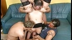 Gang Bang with Kathleen White