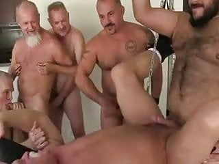 Daddies Bareback Sling Sex Party