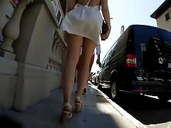(Upskirt) Upskirt no pants -.mp4