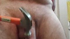 jackmeoffnow cbt hammer my curved horny dick erection bounce