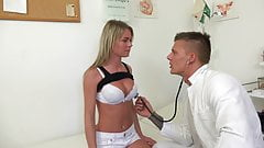 DOCTOR PROBES PATIENTS PUSSY WITH HIS COCK FOR BEST TEST RES