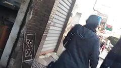 Hijab mom ass bom bom