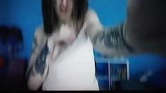 Beautiful Russian girl with tattoos webcam