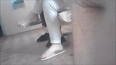candid feet of Amanda part 2