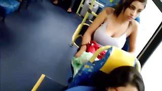 Encoxada Episode 20 Aware I was watching Her Big Boobs