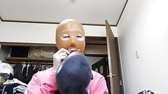 Fail to put on Anatomical Mask. 1