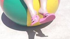 Beachball Flip-flop Dangle