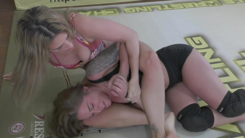 Carmella vs Briella!  Actual Feminine Aggressive Wrestling!