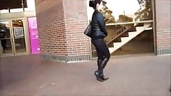 Asian Beauty Stiletto Boots Walkabout