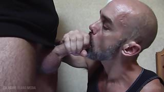 Nick Forte HD - Daddy Sucks a Giant Cock