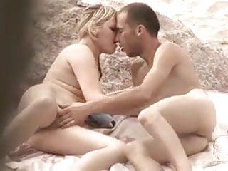 Nude Beach - Hot Blond Teen Couple Play