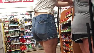 Hot Teen Cut Off Shorts