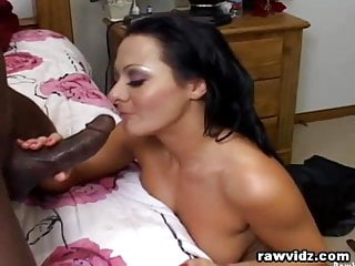 Lizzie's First Big Black Cock Anal Fuck