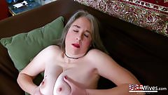 USAwives Seductive Striptease and Awesome Solo