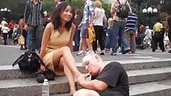 New York puplic Foot Massage