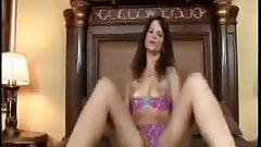 Horny Brunette Syren De Mer Masturbates Her Nice Pussy