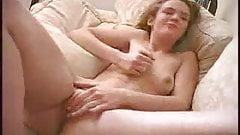 Claire masturbates till orgasm
