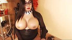 Big Cock Shemale Jerking Her Hard Dick