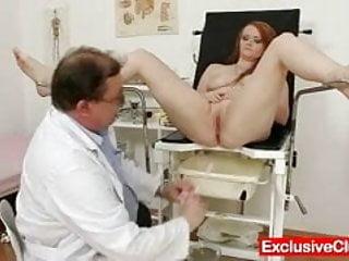 Download video bokep Redhead Samantha checked by kinky gyno doctor Mp4 terbaru