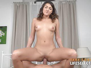 Suzy Rainbow - Brunette Babe Fucked Hard By Big White Dick