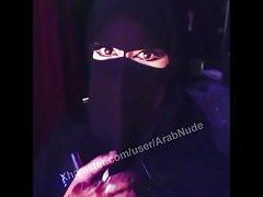 Sexy arab niqab face saudi khalij face!