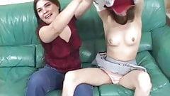 I let her lick my cheerleader panties
