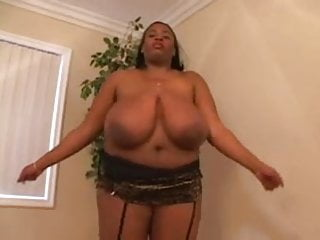 Big Tittied Black BBW MILF Vanessa Loves White Cock