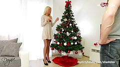MyDirtyHobby - Super skinny blonde gets her christmas wishes's Thumb