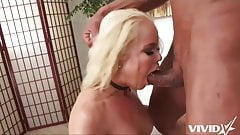 Hot latina shows off her assets and fucks her neighbour