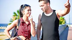 LETSDOEIT - Lucky Guy Fucks Abroad With Hot Romanian Babe