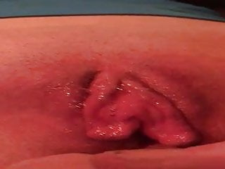 Wifes pussy just bubbling with juice