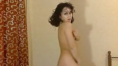 Nice russian girl strips on cam