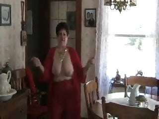 Solo #28 (Busty Granny two videos same GILF)