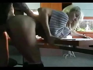 Couple Caught Fucking In The Office