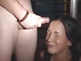 Chantelle Fox gets covered in cum
