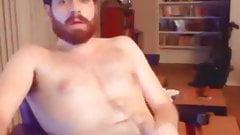 Hot dude wanking
