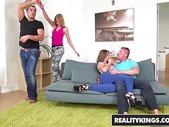 RealityKings - Euro Sex Parties - Aria Logan Sabby Silvia Bu